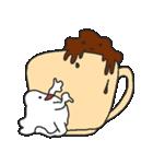 混ざらないミルクとコーヒー(個別スタンプ:12)
