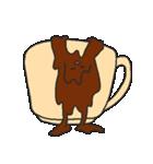 混ざらないミルクとコーヒー(個別スタンプ:13)