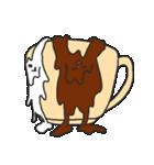 混ざらないミルクとコーヒー(個別スタンプ:14)