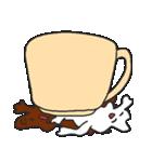 混ざらないミルクとコーヒー(個別スタンプ:16)