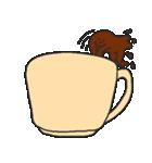 混ざらないミルクとコーヒー(個別スタンプ:17)