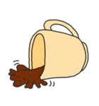 混ざらないミルクとコーヒー(個別スタンプ:31)
