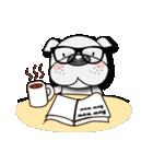 English Bulldog Dog Days(個別スタンプ:32)