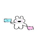 鼻デカウサギと仲間達(個別スタンプ:06)