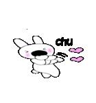 鼻デカウサギと仲間達(個別スタンプ:28)