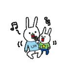 ウサギのウーのちっちゃい子とあそぼ(個別スタンプ:10)