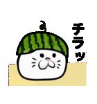 にゃにゃにゃ☆夏休み(個別スタンプ:33)