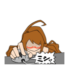 クミ子のプログラマー・SEスタンプ(個別スタンプ:17)