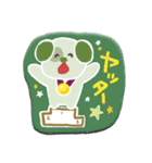 ぺたんこシール〜森のなかまたち〜(個別スタンプ:05)