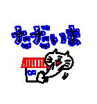 3色ボールペン★Ladies(個別スタンプ:07)
