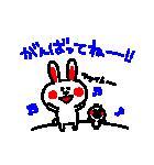 3色ボールペン★Ladies(個別スタンプ:09)