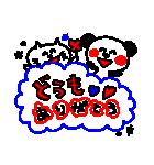 3色ボールペン★Ladies(個別スタンプ:16)