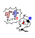 3色ボールペン★Ladies(個別スタンプ:21)