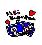 3色ボールペン★Ladies(個別スタンプ:22)