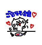 3色ボールペン★Ladies(個別スタンプ:24)