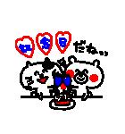 3色ボールペン★Ladies(個別スタンプ:27)