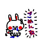 3色ボールペン★Ladies(個別スタンプ:35)