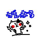 3色ボールペン★Ladies(個別スタンプ:36)
