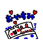 3色ボールペン★Ladies(個別スタンプ:38)