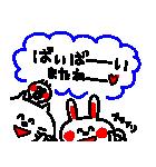 3色ボールペン★Ladies(個別スタンプ:40)
