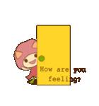 [HAPPY BELL] goooood care!(個別スタンプ:34)