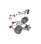 くまロボ スプリンター用(個別スタンプ:35)