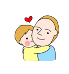 国際結婚家族スタンプ(育児-男児編)(個別スタンプ:08)