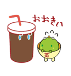 お茶の妖精さん(個別スタンプ:16)