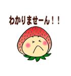こまめっちょ No.6(いちごスーツで敬語)(個別スタンプ:13)