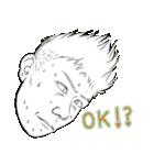 変顔スタンプ男性編vol.2 OK!(個別スタンプ:13)