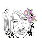 変顔スタンプ男性編vol.2 OK!(個別スタンプ:19)
