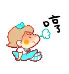 【バースデーケーキ】ママとメイメイ(個別スタンプ:15)
