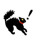 黒猫まみれ★スタンプ