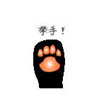 黒猫まみれ★スタンプ(個別スタンプ:08)