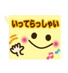 コレ使える!顔ふきだし(挨拶・日常)(個別スタンプ:22)