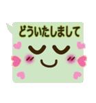 コレ使える!顔ふきだし(挨拶・日常)(個別スタンプ:32)