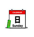 お茶目なカレンダーライダー(個別スタンプ:38)