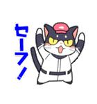 野球にゃんこ(個別スタンプ:2)