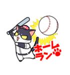 野球にゃんこ(個別スタンプ:16)