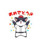 野球にゃんこ(個別スタンプ:28)