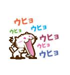 白ねこの日常(個別スタンプ:03)
