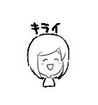 はっきり優子(個別スタンプ:15)