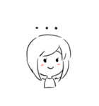 はっきり優子(個別スタンプ:40)
