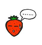 賞味期限ギリギリ。イチゴの本音(個別スタンプ:36)