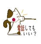 小生意気な白うさとぶちネコ2(個別スタンプ:37)