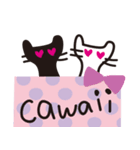 大人かわいいネコ♥【日常・敬語】(個別スタンプ:27)