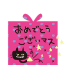大人かわいいネコ♥【日常・敬語】(個別スタンプ:35)