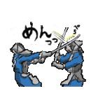 剣道くん審判ひとすじ物語って妄想に使おう(個別スタンプ:09)