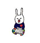 ウサギのウーのおっさんスタンプ(個別スタンプ:12)