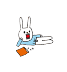ウサギのウーのおっさんスタンプ(個別スタンプ:34)